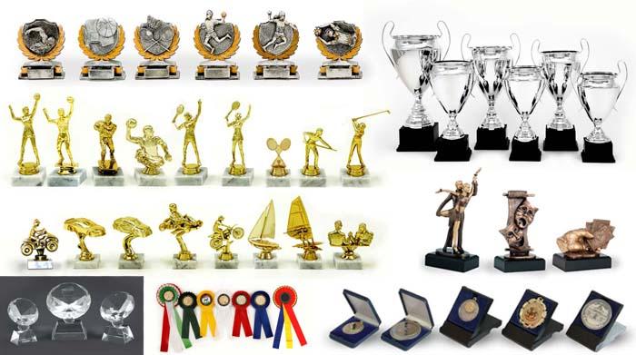Medalii, trofee, cupe personalizate